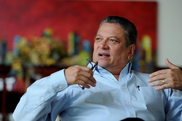 Johnny Araya, alcalde de San José. Fotos Melissa Fernández Silva