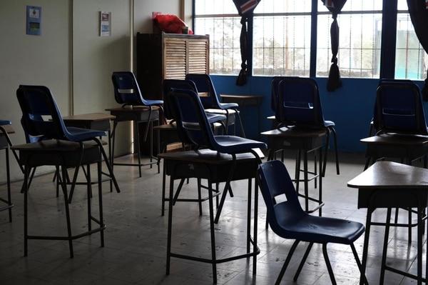 En varias escuelas de Moravia, Guadalupe y Coronado se reportó un ausentismo de