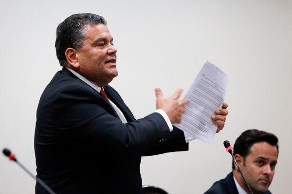 Rodolfo Peña, del Partido Unidad Social Cristiana (PUSC). Fotos: Mayela López