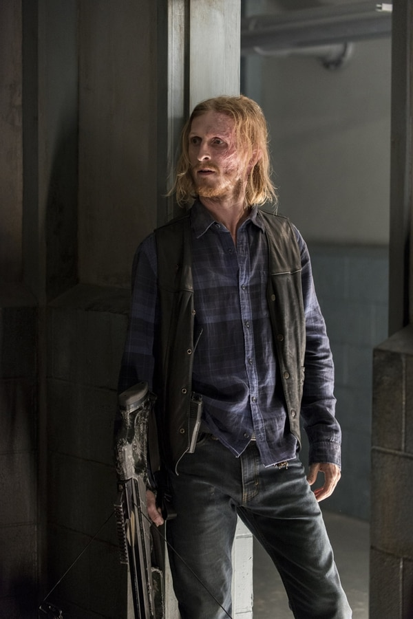 Austin Amelio interpreta a Dwight. Cortesía AMC.