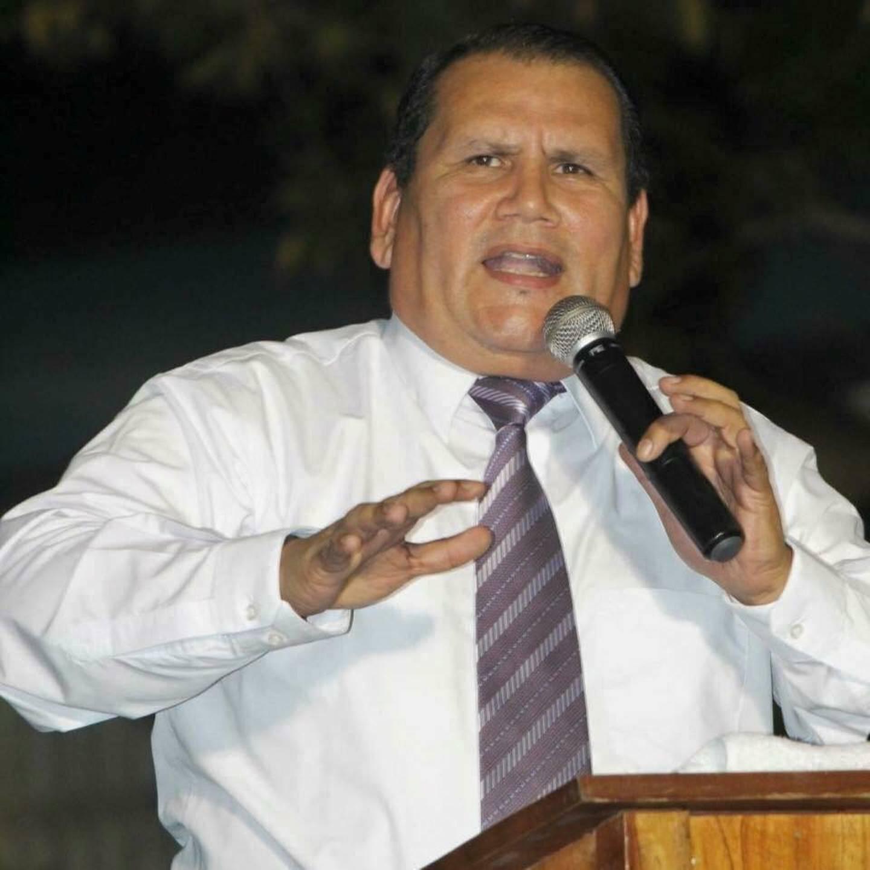Rigoberto Vega, presidente de Alianza Evangélica.