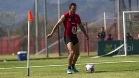 Marco Ureña expresa su sentir al ver que la '30′ de Alajuelense llegó cuando él no estaba