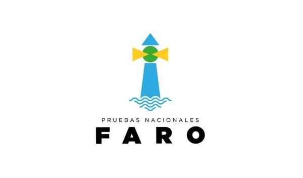 Este es el logotipo oficial de las pruebas nacionales FARO del MEP.