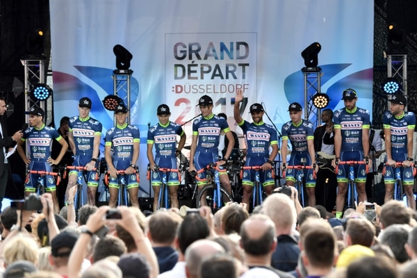El equipo Wanty también correrá el Tour.