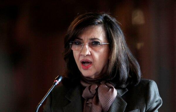 Claudia Blum deja la Cancillería colombiana en un momento muy sensible para la imagen internacional de la administración de Iván Duque. Foto: AFP