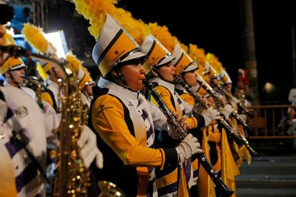 La, Banda Municipal de Acosta suele ser una de las favoritas del público. Fotos: Mayela López