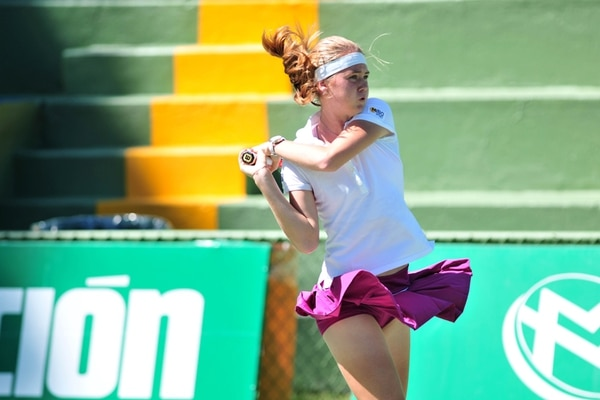 Bouzkova no ha perdido ni un solo set en la competencia. | RAFAEL MURILLO
