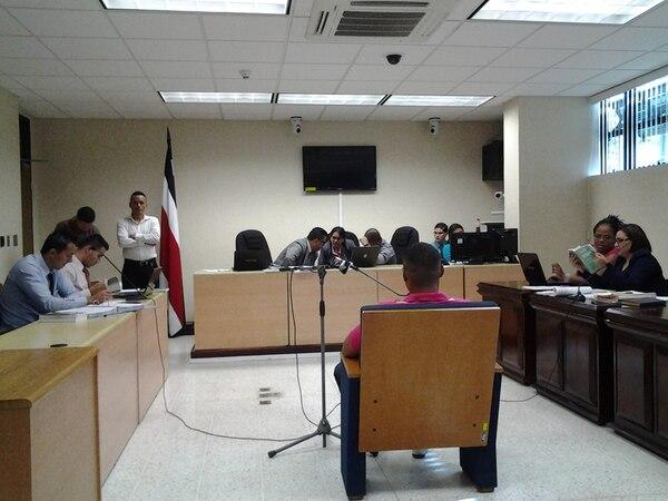 El testigo declaró ayer al reiniciar el debate por el caso de Mora. | R. MARTÍN.