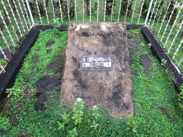 La olvidada tumba de William Walker está ubicada en Trujillo, Honduras, el lugar donde fue fusilado un 12 de setiembre de 1860. Cortesía de Santiago Porras