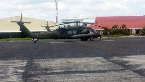 Helicópteros militares entraron al país sin aval del Congreso