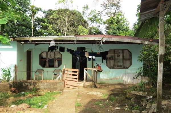 En la casa de la pequeña víctima, Sammy Raquel, de año y tres meses, viven además sus otros siete hermanos. | EDGAR CHINCHILLA