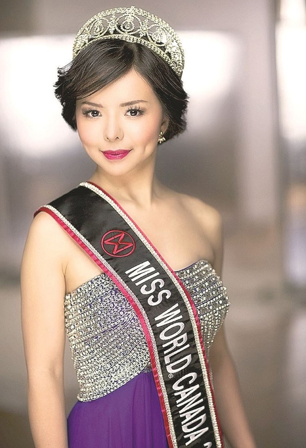 La organización de Miss Mundo Canadá dijo que no enviarán a otra candidata si no le dan la visa a Lin para ir a China. Facebook Anastasia Lin.