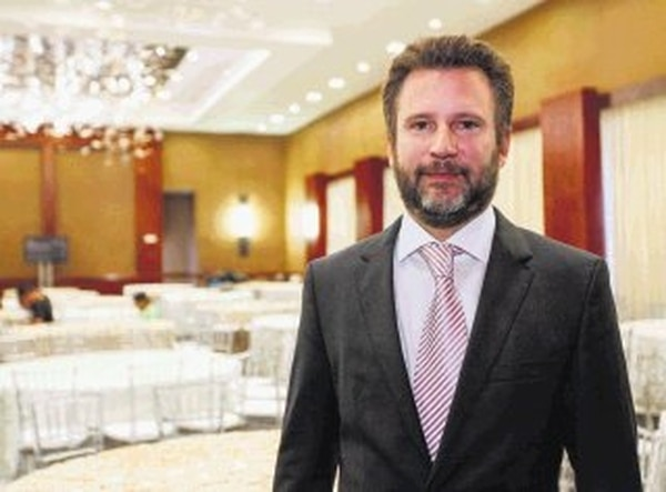 El vicepresidente de Real Hotels & Resort, Fernando Poma.   JORGE ARCE.