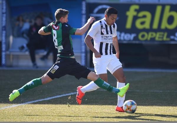 Andy Reyes milita en el LASK Juniors de la Erste Liga de Austria.