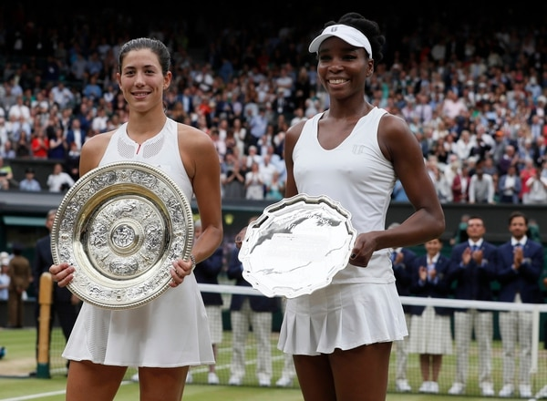 Garbine Muguruza vive un momento histórico al ganar su primer Wimbledon.