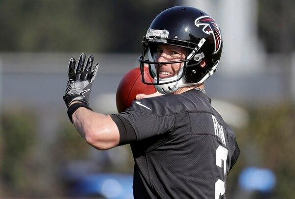 Matt Ryan busca su primer Super Bowl.
