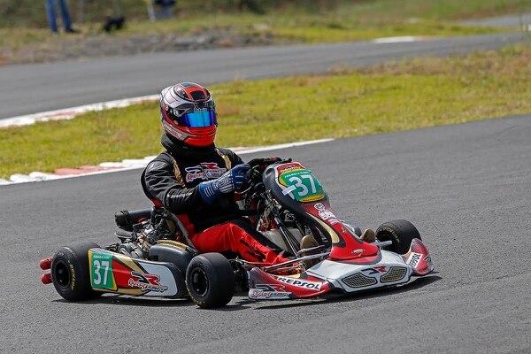Danny Formal, además de competir en el kartismo estadounidense, es el sublíder de lasegunda tempoirada del CTCC.