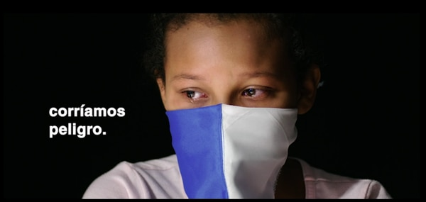 En el video, Sofía, una niña nicaragüense, cuenta por qué ella y su mamá tuvieron que huir de su país.