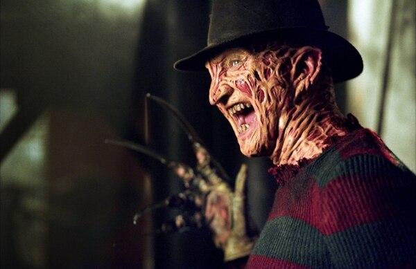 El actor Robert Englund en su personaje de Freddy Krueger.