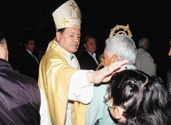 Fotografía de Archivo del cardenal Norberto Rivera, quien manifestó por medio de una carta que no permaneció mudo ante la violación de los derechos humanos y divinos de la iglesia. Archivo