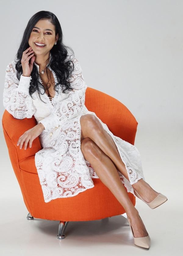 Nancy Dobles trabajó 11 años consecutivos en El Chinamo, uno de los programas más populares de fin de año. Foto de Jorge Castillo