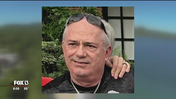 La desaparición de Charlie Hughes fue divulgada este viernes por medios estadounidenses. Foto: FOX 13 News.