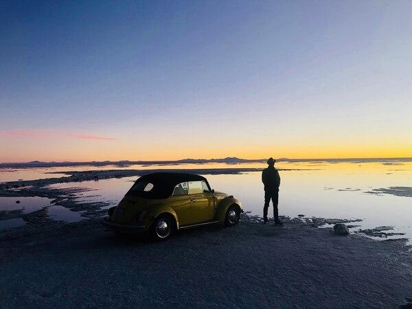 Leon asegura que enfrentarse a condiciones climáticas tan extremas, como cuando inició su viaje a -20° en Alaska, puso a prueba su resistencia física y mental en todo el recorrido. Fotografía: BYUTV para La Nación