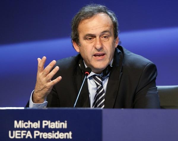 Michel Platini es el jerarca de la UEFA.