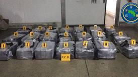 Narcos camuflaron 21 maletines con cocaína en cargamento de piña que iba para Holanda