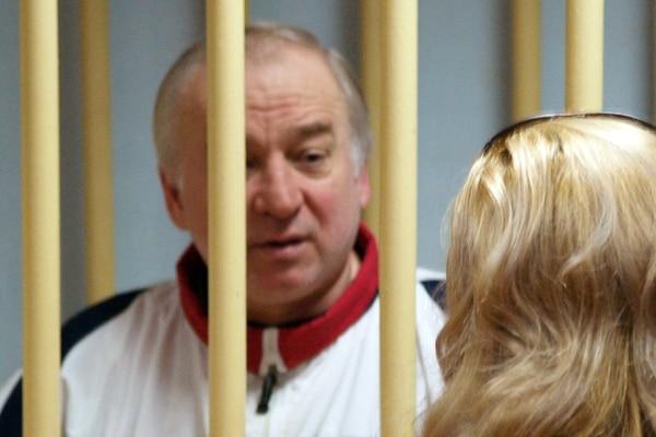 Serguéi Skripal acudió a una audiencia en un tribunal militar de Moscú el 9 de agosto del 2006