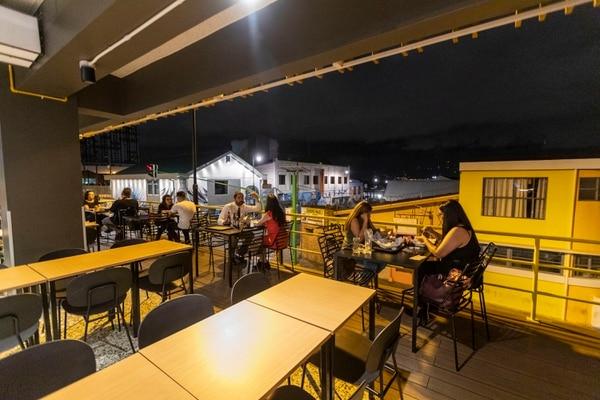La vista de Amor de Barrio ofrece una colorida postal de San José. Foto: José Cordero