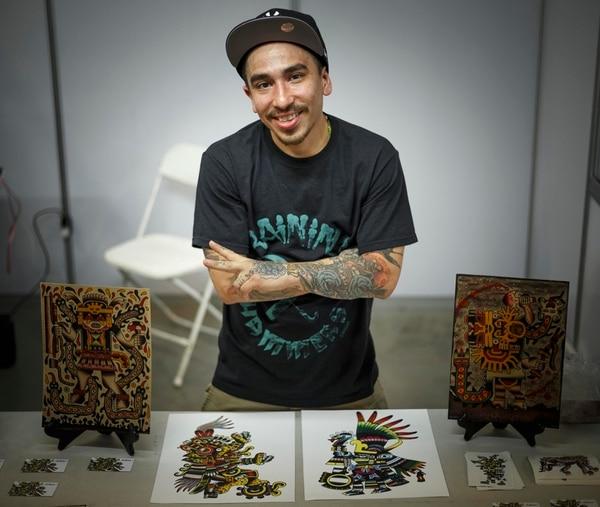 Los diseños de Chimu Grigio reflejan su legado latinoamericano. Fotografía: Andrés Arce.