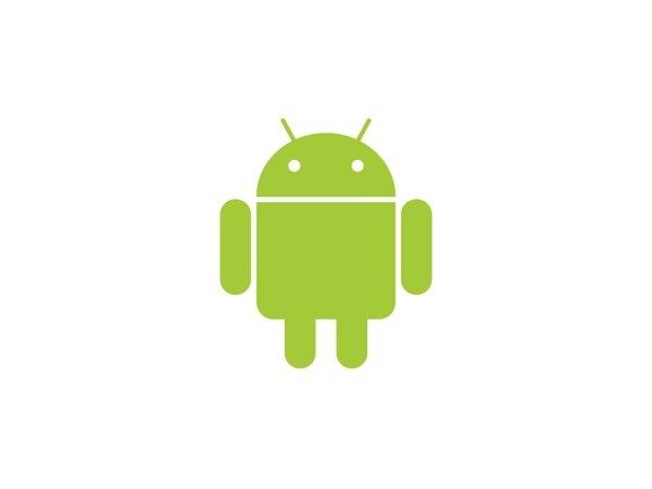 El logotipo del sistema operativo Android de Google