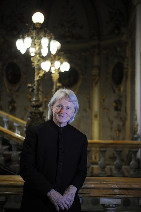 Carl St. Clair cumplió un lustro al frente de la Sinfónica Nacional. Fotos: Jorge Navarro