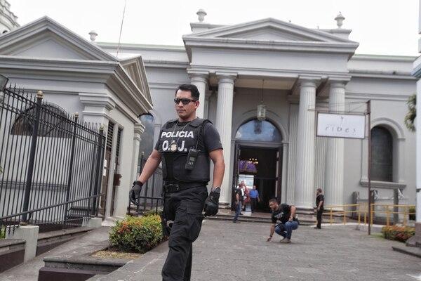 01-03-2019/Allanamiento en La Curia Metropolitana en San José por parte del OIJ / Fotografía: John Durán