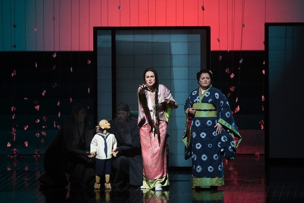 Kristine Opolais en el papel de la geisha en 'Madama Butterfly'.