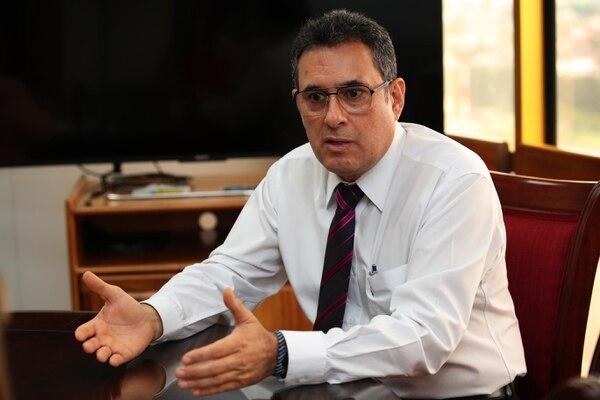 Alejandro Muñoz Villalobos, presidente ejecutivo de Recope. Foto: Graciela Solís