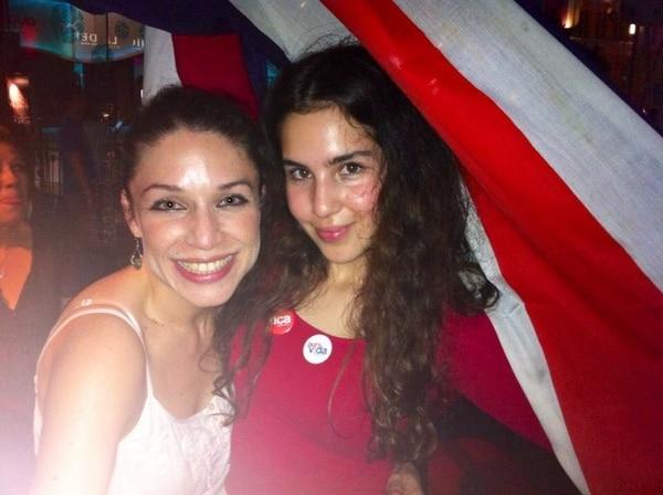 Cindy Castro Vega y su hija Hillary, de 20 años.