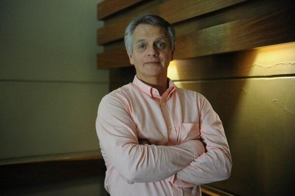 Douglas Montero, director de Fondos de Inversión de Aldesa Foto de: Diana Méndez.