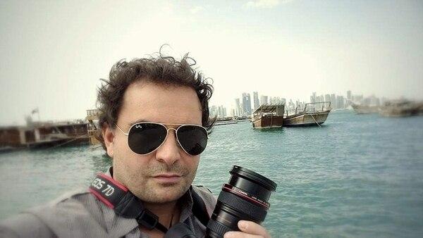 Ángel Sastre es uno de los tres reporteros desaparecidos.   EFE