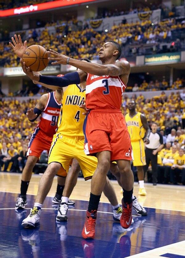 Bradley Beal fue pieza fundamental para el triungo de Wizards. | AFP