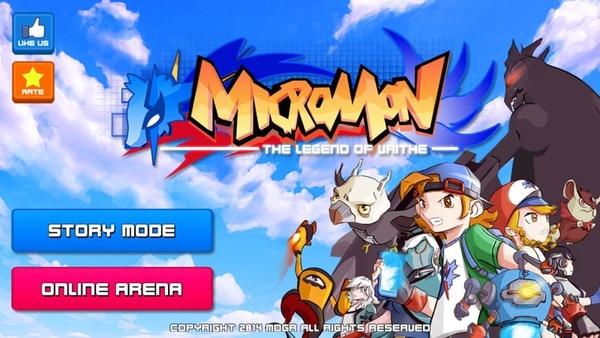 Micromon pertenece al subgénero de captura de monstruos. El juego tico se lanzó a finales de julio y se desarrolló durante tres años y medio, aproximadamente.   MICROMON PARA LN