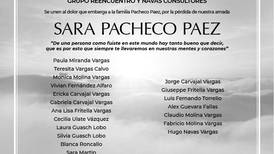 SARA PACHECHO PAEZ