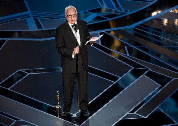 James Ivory recibió el premio en la categoría mejor guion adaptado por