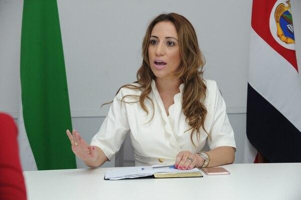 La diputada Karine Niño, del PLN, fue la impulsora de la reforma. Foto: Jorge Castillo