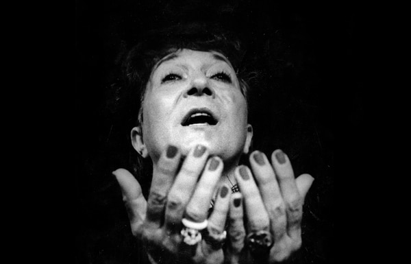 Ana Poltronieri, gran dama del teatro en Costa Rica.