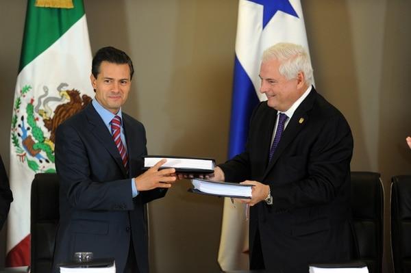 El convenio comercial fue suscrito en el marco del noveno Foro Económico Mundial para Latinoamérica.
