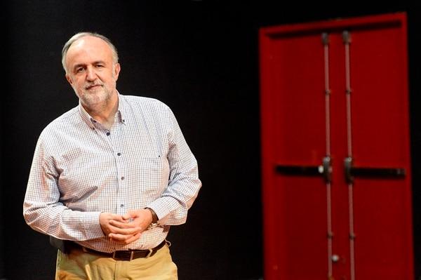 Marco Antonio de la Parra, un gran personaje del teatro de América Latina, compartió su experiencia con autores locales.