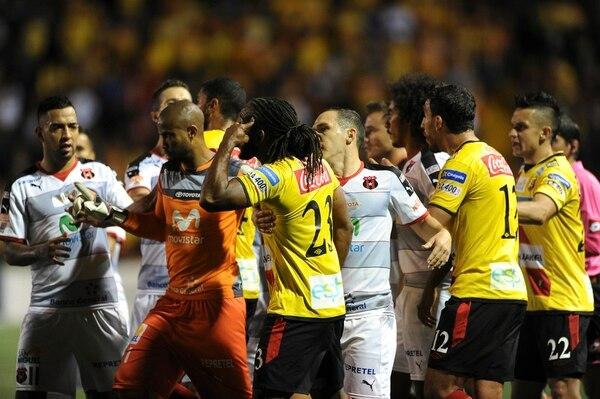 Patrick Pemberton admitió que Núñez le hizo un gol de muy buena factura.
