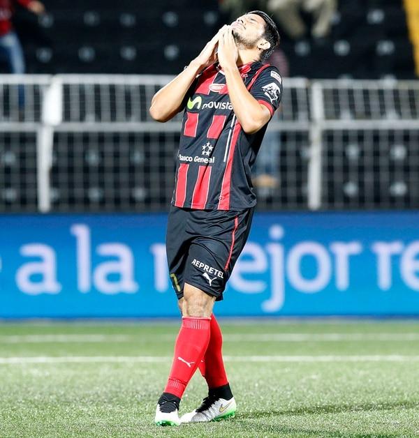Alejandro Aguilar todavía no anota en el Verano. | RAFAEL PACHECO